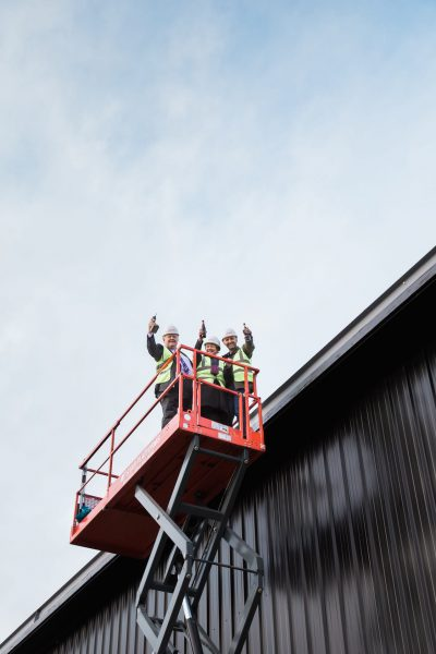 Curious Brewery Topping Out Ceremony in Ashford, Curious Brewery Ashford