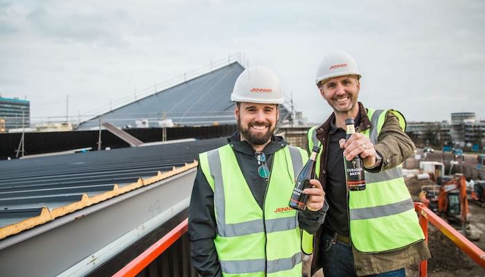 Curious Brewery Topping Out Ceremony | AshfordFOR News