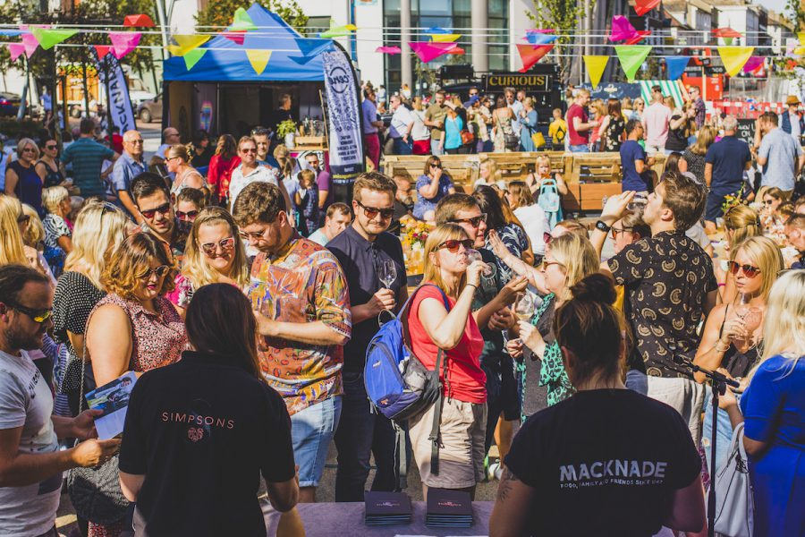 Macknade at Elwick Place Pre-launch party on September 14 2019