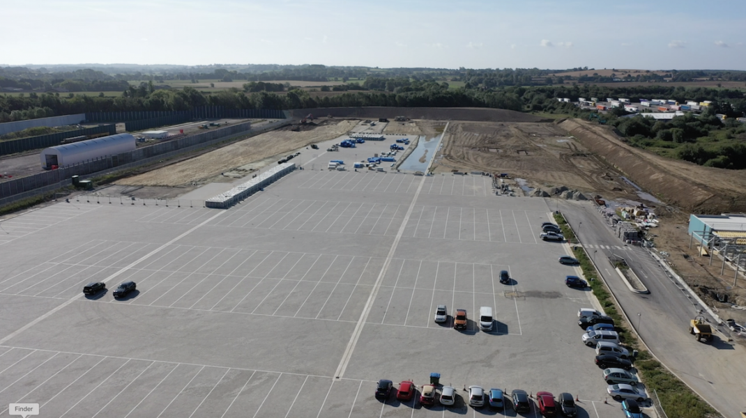 The upcoming Ashford International Truckstop