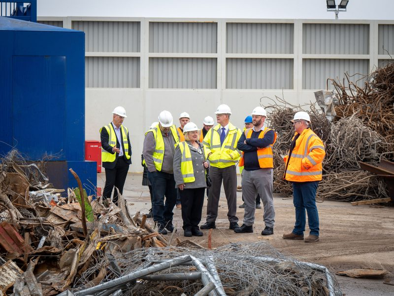 Mayor of Ashford opens new EMR recycling facility in Ashford