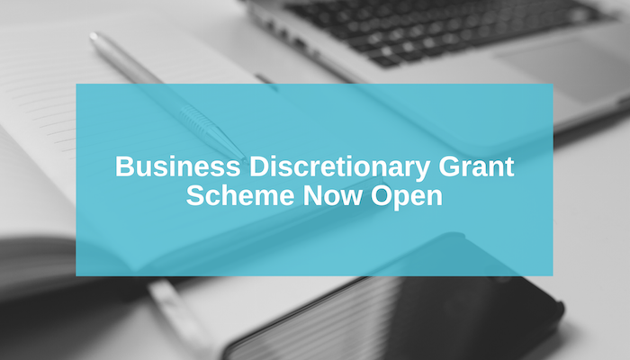 Business Discretionary Grants Scheme Now Open | AshfordFOR News