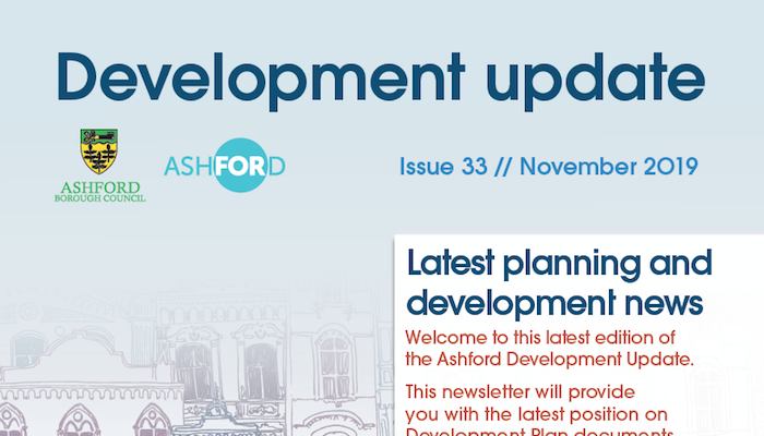 Ashford Development Update - November 2019 | AshfordFOR News